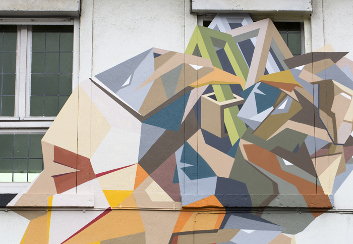 Strook Wood and Paint Wall