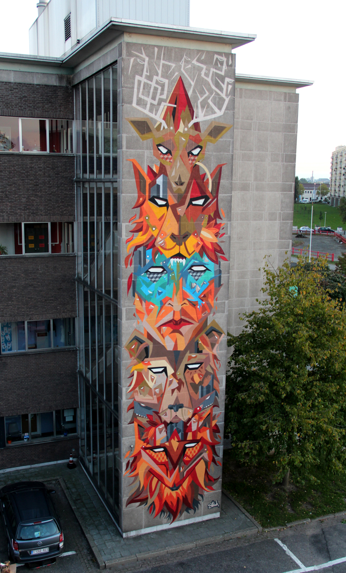 Strook Totem Wall